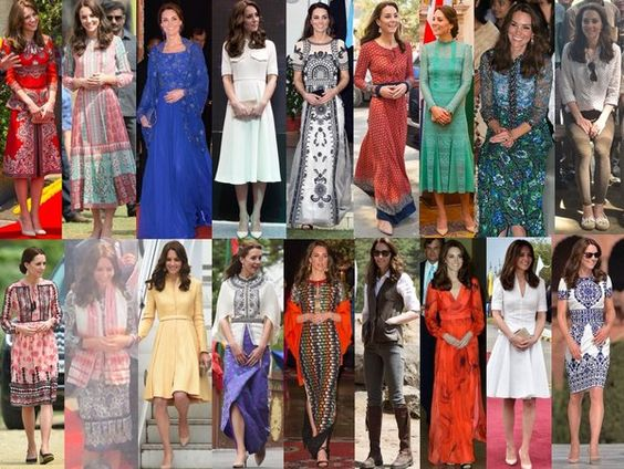 Kelly Matthews on Twitter: Royal Tour of India and Bhutan, April 10-16, 2016-The Duchess of Cambridge