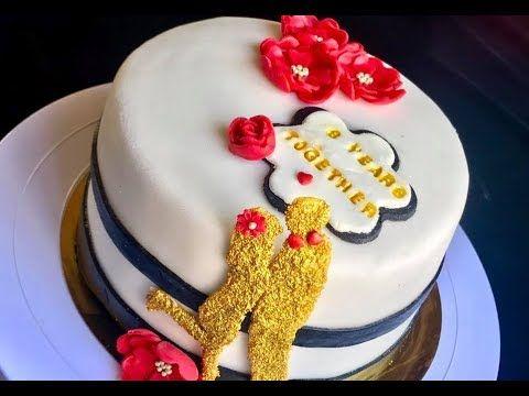 تزيين الكيك بعجينة السكر للمبتدئين بطريقة سهلة جدا و نصائح مهمة Youtube Cake Birthday Cake Desserts