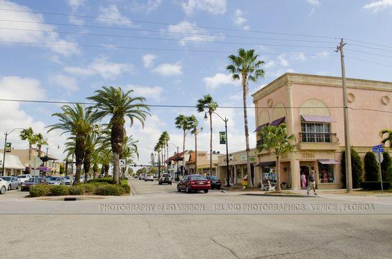 Venice and Nokomis Avenues Venice FL