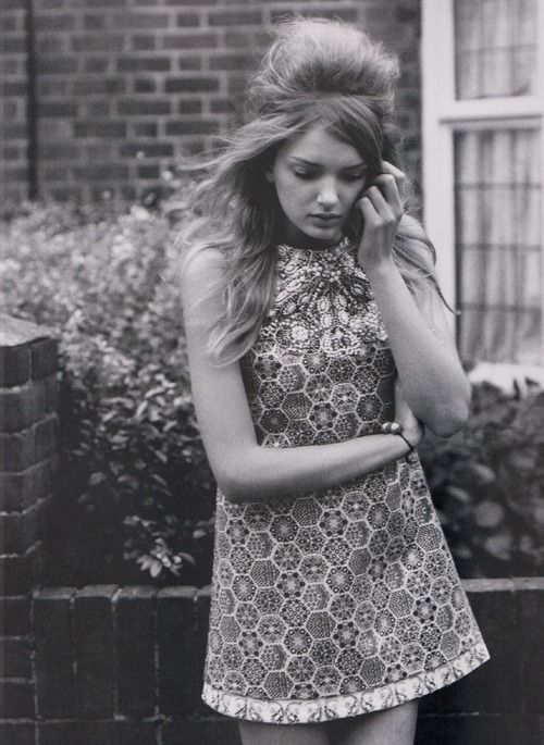 Lily Donaldson in Gucci shot by Alasdair McLellan for i-D