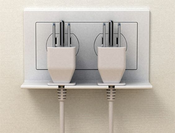 Hangon outlet electrical power accesories
