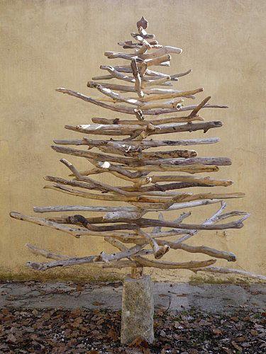 Pinterest le catalogue d 39 id es for Acheter sapin de noel en bois flotte