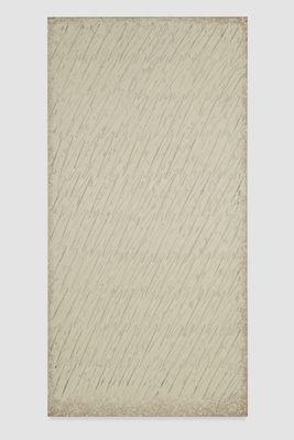 Park Seobo Ecriture No. 201-85, 1985 Oil on cotton 59 x 29 1/2 inches