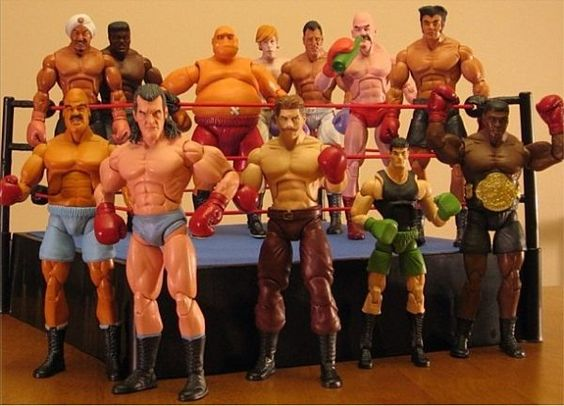 Custom 'Mike Tyson's Punch-Out' Action Figures are as Awesome as You'd Think