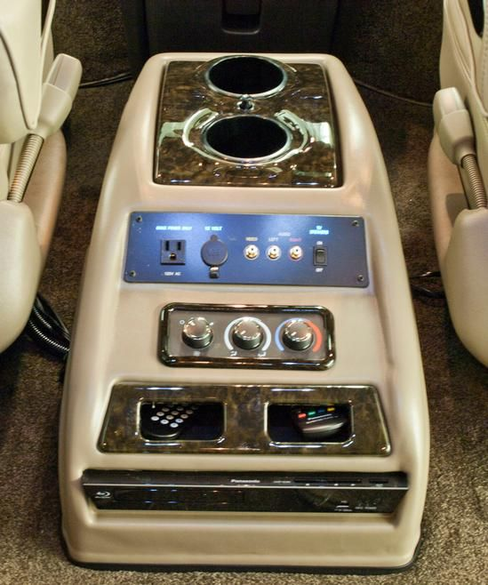 Redesigned Center Console