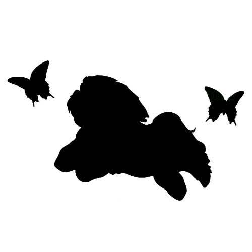 Pin By Kimberly Randazzo On Love Shih Tzu Dog Tattoos Dog Silhouette Animal Silhouette