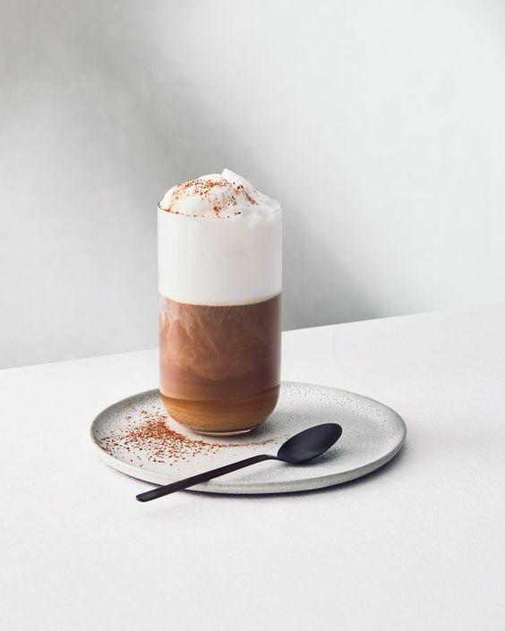 Кофейный минимализм (фуд-фото) *