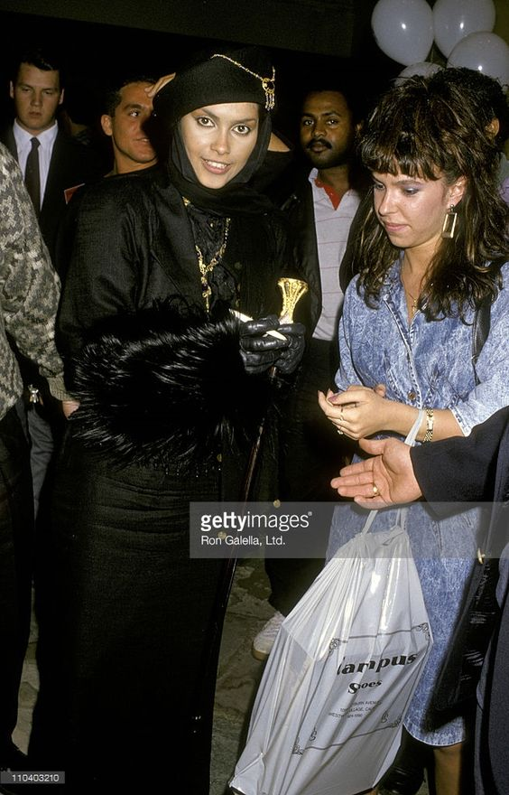 Singer Vanity attends the premiere of 'Action Jackson' on February 11, 1988 at Mann Village Theater in Westwood, California.: