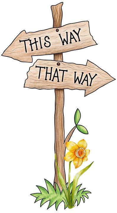 Sign Direction Kids - Free image on Pixabay