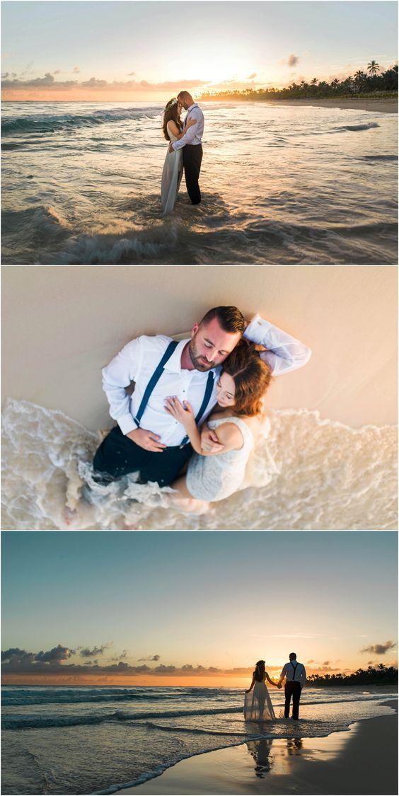 Beach destination wedding