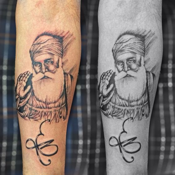 Guru Gobind Singh And Tattoos And Body Art On Pinterest