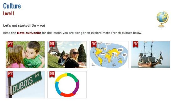 French Essentials - online language and culture program for grades 3-12