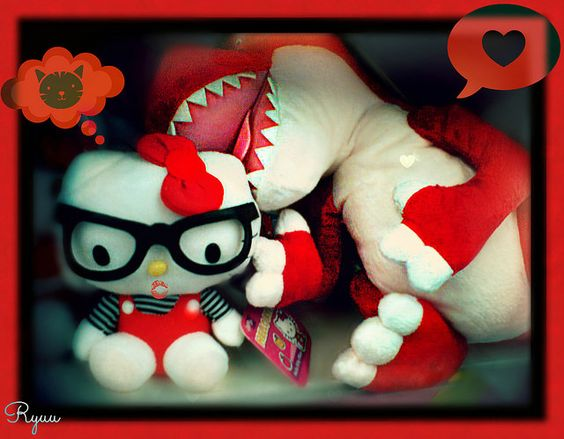 "Hello Kitty "" tender bite of love "" 