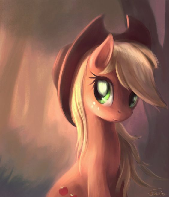Applejack by =AeronJVL on deviantART: