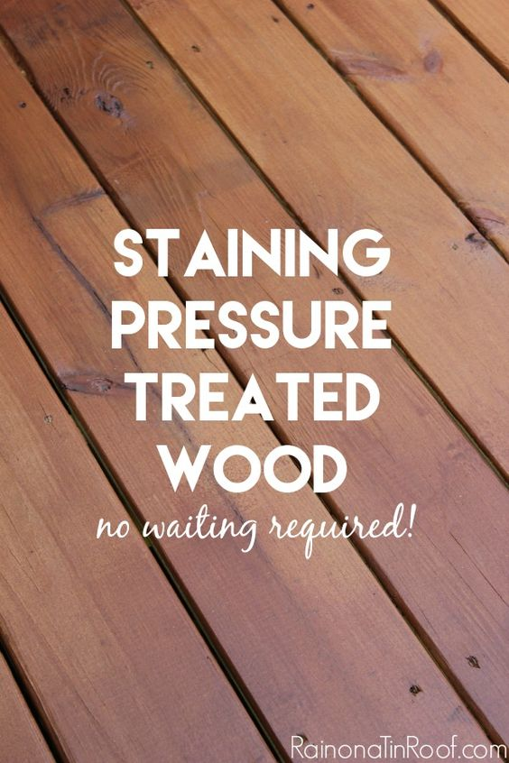 staining pressure treated wood the secret stains and the o 39 jays. Black Bedroom Furniture Sets. Home Design Ideas