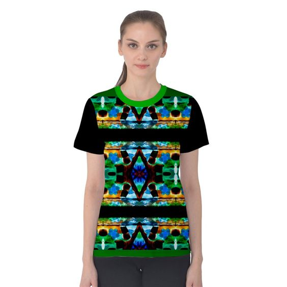 meadow by saprillika All Over Print Sport T-shirt (Women)