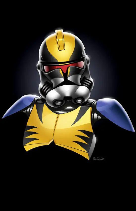 Stormtroopers x Wolverine