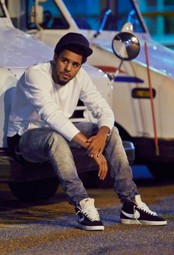 "allblackerrthingus: "" balmainz: "" J.Cole "" His album fire #Word "" hip hop instrumentals updated daily => http://www.beatzbylekz.ca"