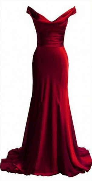 Prom Gown,Pretty Off Shoulder Burgundy Prom Dresses With