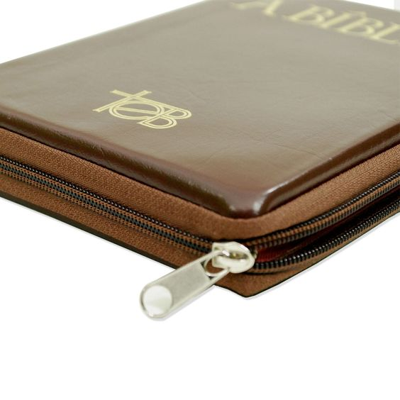 Bíblia TEB Popular com Zíper - Marrom https://www.ramah.com.br/biblia-teb-popular-com-ziper-marrom.html