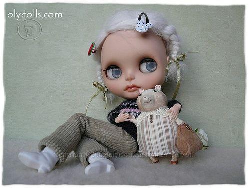 mouse doll  Мыша Галя 126