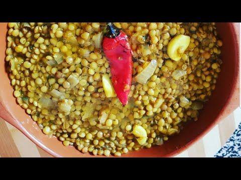 عدس العدس على الطريقة المغربية مفروز حبة حبة و ممعجنش Youtube Vegetables Beans Food