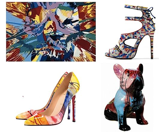 art inspired shoes