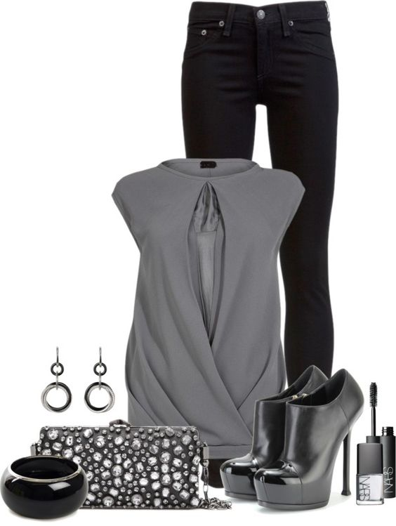 U0026quot;New Year Night Outu0026quot; by cynthia335 on Polyvore | Cute Outfits | Pinterest | Night out Take me ...
