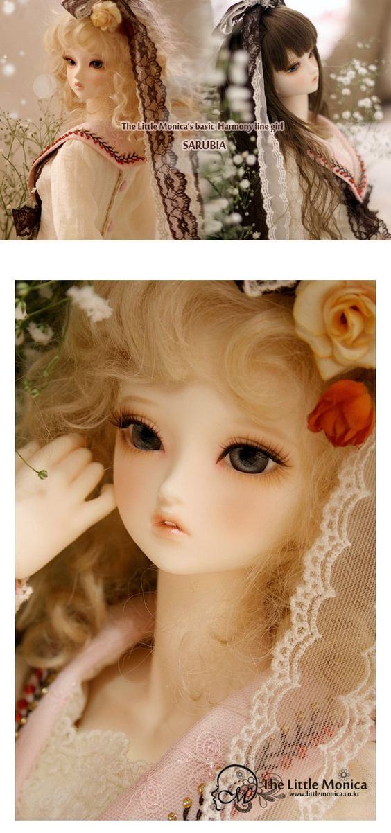 Sarubia - Little Monica 57cm Girl - BJD Dolls, Accessories - Alice's Collections