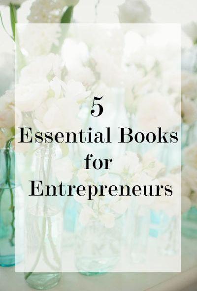 5 Key Reads for Entrepreneurshttp://bit.ly/Shaklee-Business ...