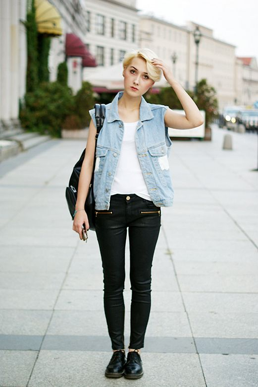 Tomboy Fashion Tomboys And Vests On Pinterest