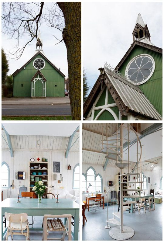 Old churches church and artists on pinterest - Homes in old churches ...