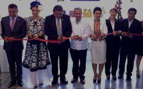 Inauguran punto de venta de artesanías de la DEMA en el congreso del estado