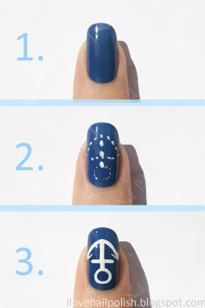Everyone could anchors on their nails?
