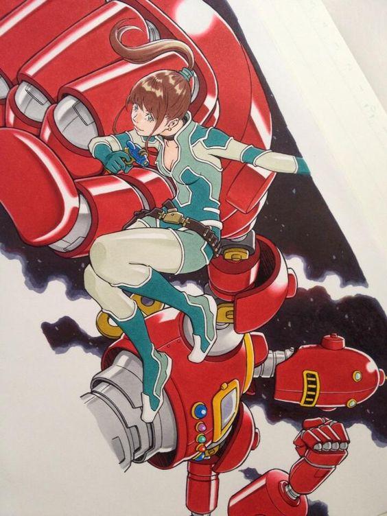 2013 年おさらいイラスト・ヒーロー by Eisaku