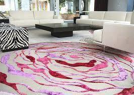Interesting rose rug