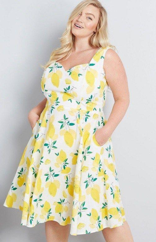 Plus Size Yellow Maxi Dresses - New Styles This Season ...