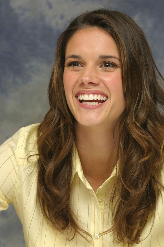 Missy Peregrym -------------------------------------  Turn any good quality picture into a cardboard cutout. Great for themed parties. almostbreathing.com