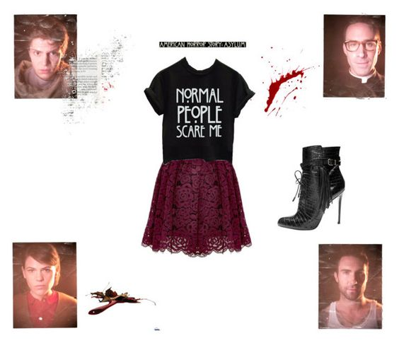 """AHS!"" by kimberly-pera on Polyvore featuring mode"