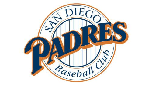 The Old Padres Logo Designed In 1969 Gives The Picture Of A Friar In A Yellow Circle San Diego Padres Mlb Team Logos Padres