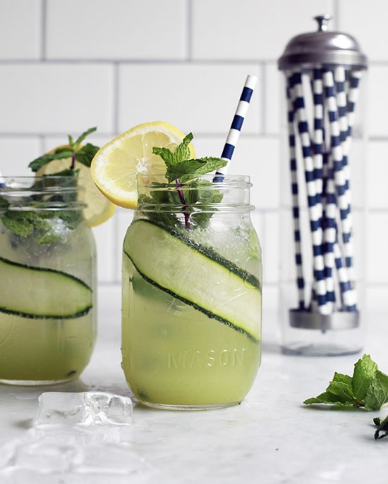 Cucumber Lemonade — The Jewels of New York: