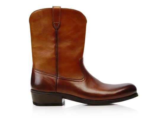 Christopher Vintage Effect Cowboy Boot
