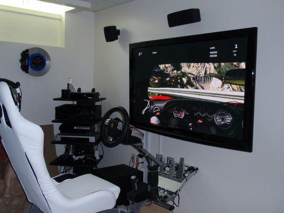 Decent gaming setup pc workstation gaming setup for Cool office setups