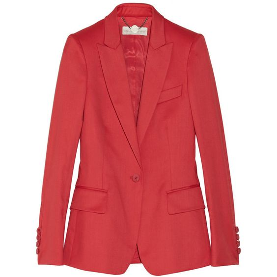 valentino red wool jacket