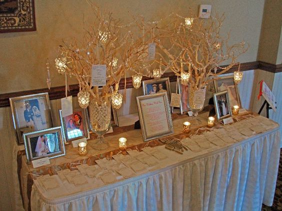 memory table for loved ones who have passed away ideas pinterest memory table funeral and family reunions