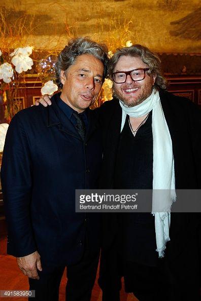 PARIS, FRANCE - OCTOBER 06: Executive President Stephane... #thimister: PARIS, FRANCE - OCTOBER 06: Executive President… #thimister