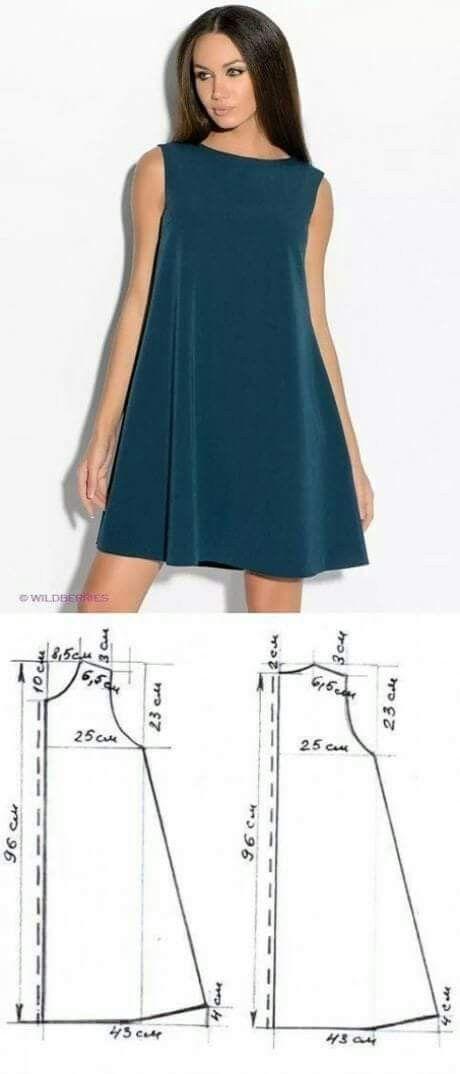 Einfaches Kleid-Muster - DIY Dress #hochzeitskleiderhäkeln Einfaches Kleid-Muster