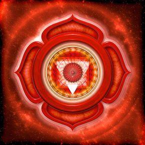 Wurzelchakra(1. Chakra,Muladhara):Lebenskraft und Urvertrauen。 Bedeutung,Aufgabe,Farbe,Störungen,Blockaden undÖffnendes Wurzelchakras。