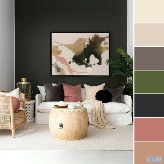 Colores Para Salones Modernos Salones Modernos 2018 Salones Modernos De Belleza Salones Mode Living Room Colors Living Room Color Schemes Living Room Color