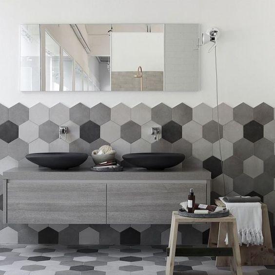 Small Modern Bathroom Tile Designs Ideas